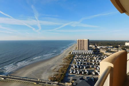 Oceanfront Best Views Ever Spacious - Myrtle Beach