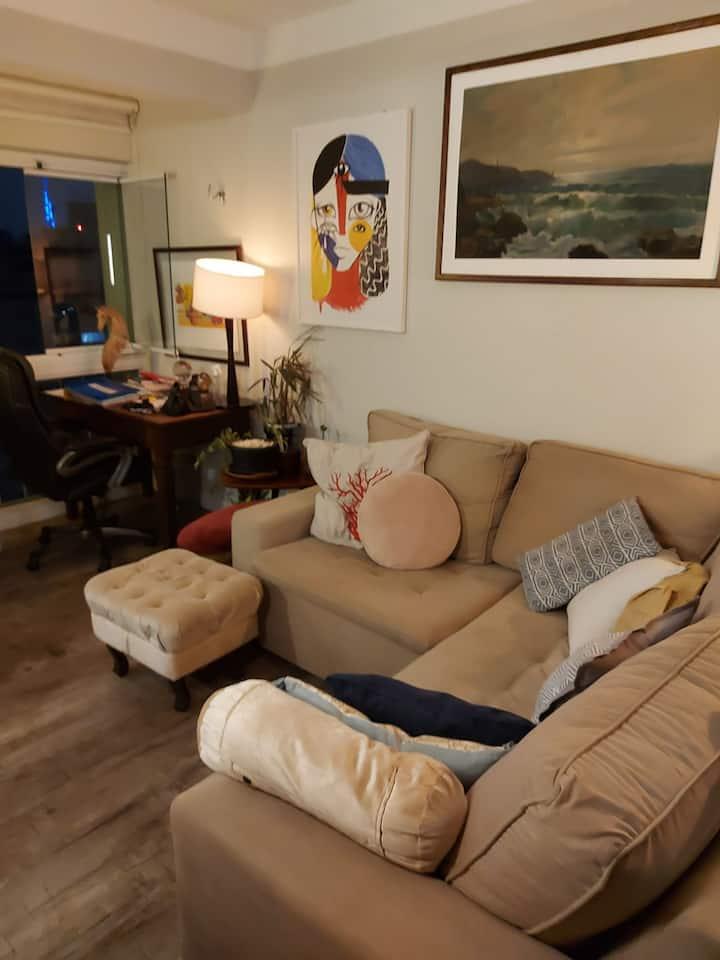 Classe, conforto e linda vista ,apartamento 80m