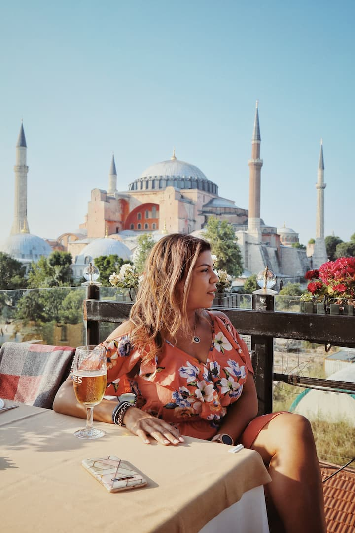 The Best Photo Spot for Hagia Sophia