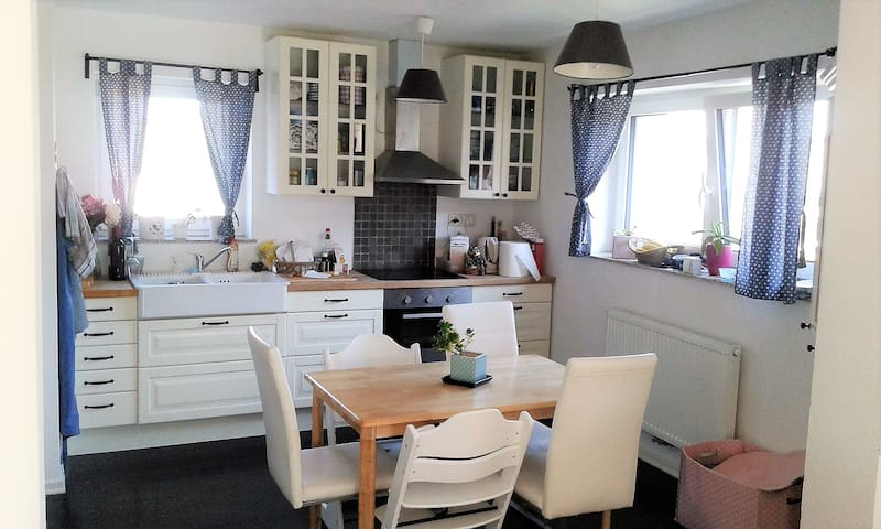 Cosy & light flat for families, couples & friends - Žabnica - Apartment