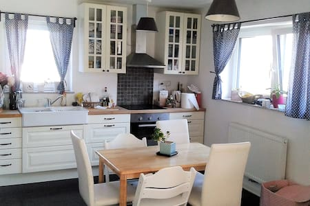 Cosy & light flat for families, couples & friends - Žabnica - 公寓