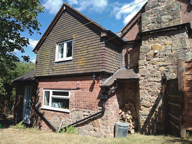 A traditional country cottage on hills near Ludlow