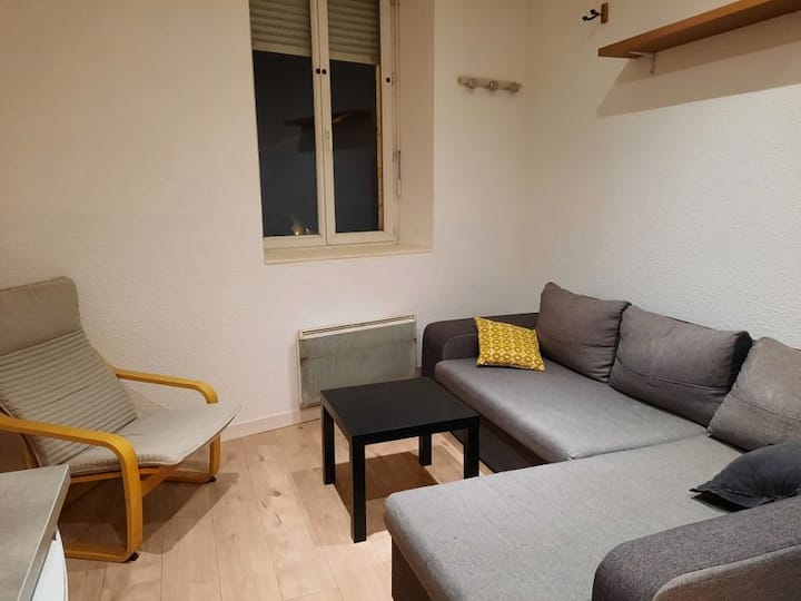 Appartement centre ville Oyonnax, quartier calme