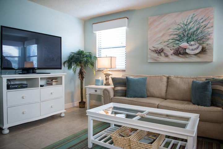 Catch the SEABREEZE in this charming coastal condo