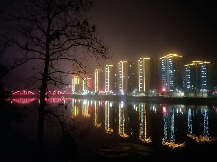 5A级景区东江湖1.7公里处/云湖雾缦精品别墅酒店/宽敞的360平米独栋别墅,出租其中一间独立客房