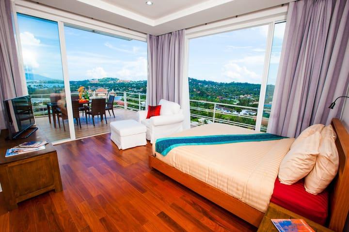 ★Gorgeous view | Corner unit | Spacious Balcony★