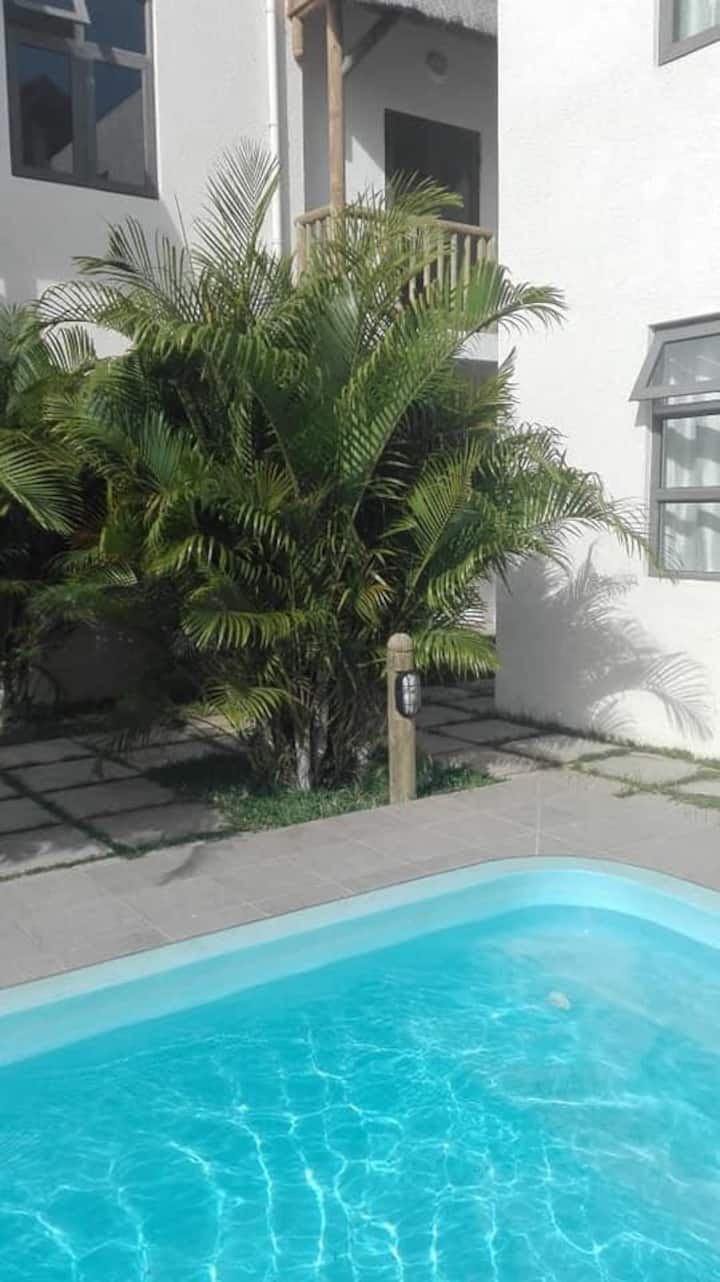 3 beds fully furnished Villa with pool to rent