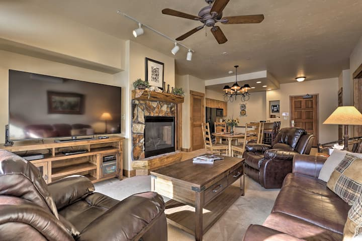 Steamboat Condo w/ Pool Access - 5 Mins to Mtn!