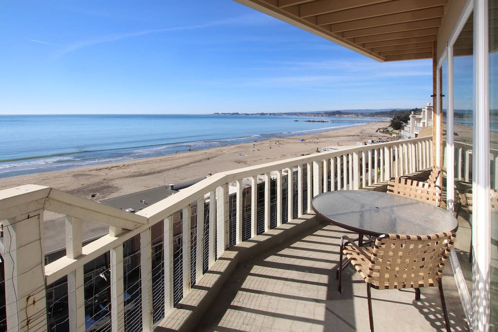 This oceanfront condo is professionally managed by TurnKey Vacation Rentals.