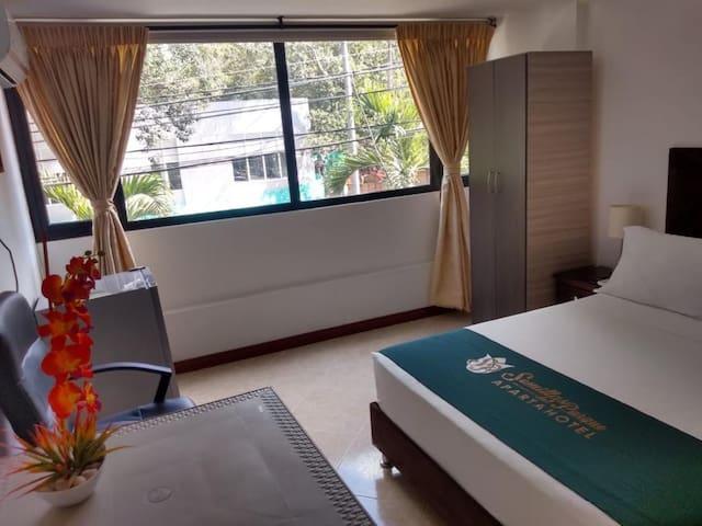 Habitación individual en Hotel de medellin