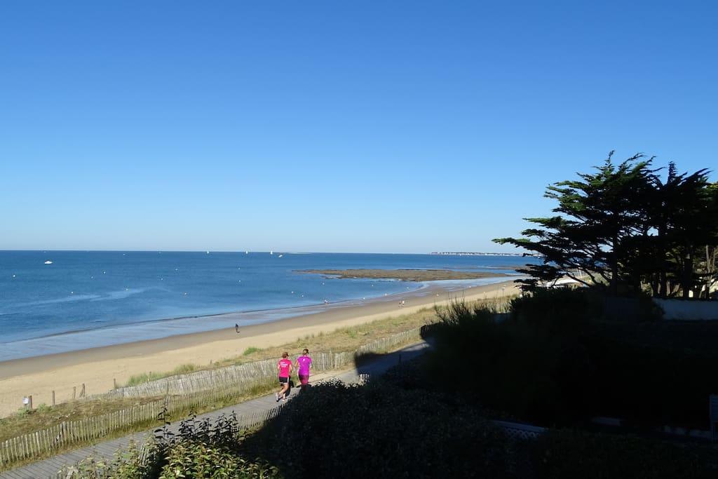 Vue Ouest basse mer