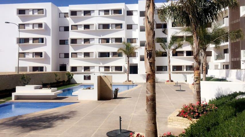 Appartement spacieux près de la mer à Agadir
