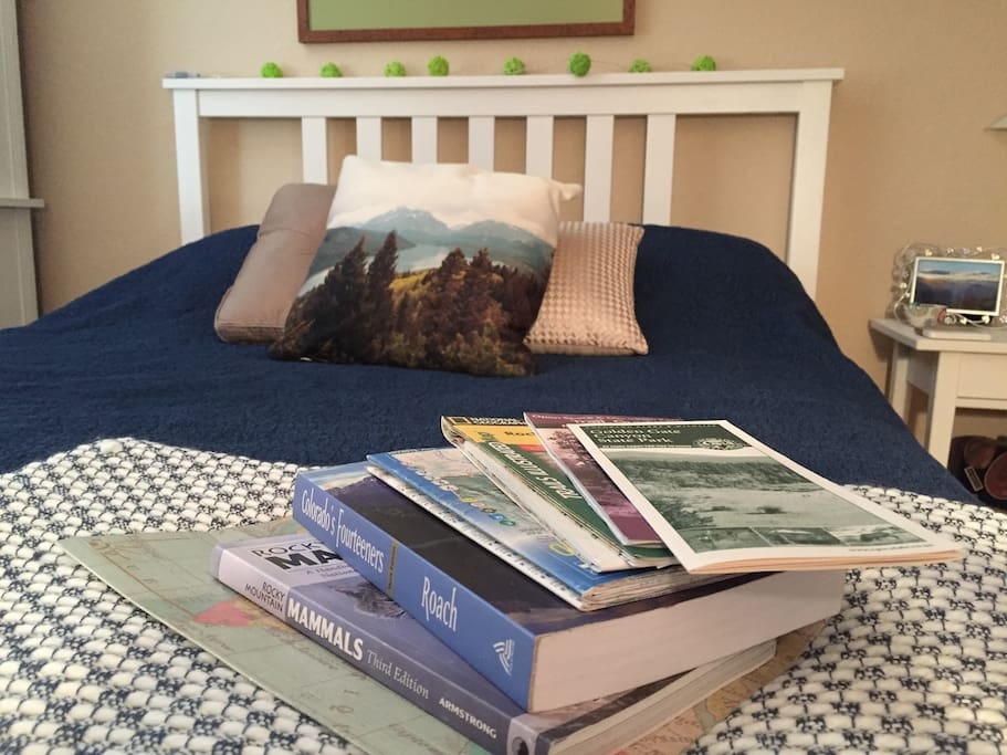 Some maps and Colorado guides to assist you during your stay.