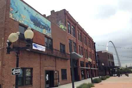 Beautiful Historic Loft updated new - Сент-Луис - Квартира