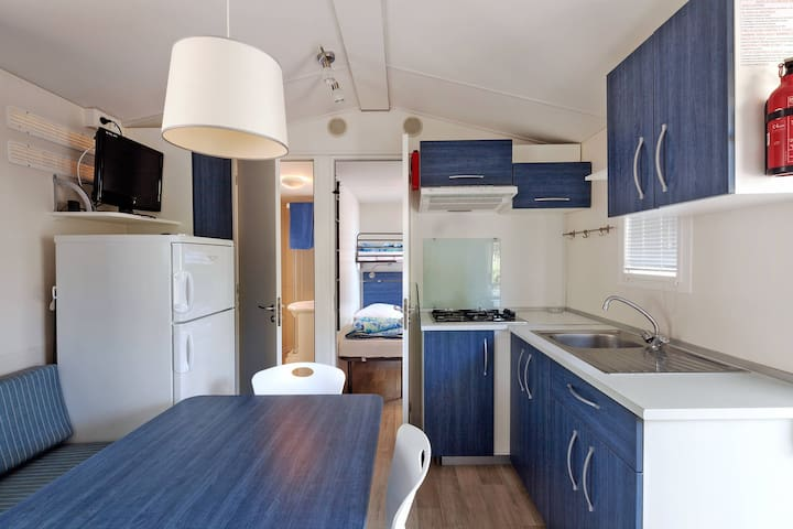 Mobile home Camping Laguna Blu for 6 persons