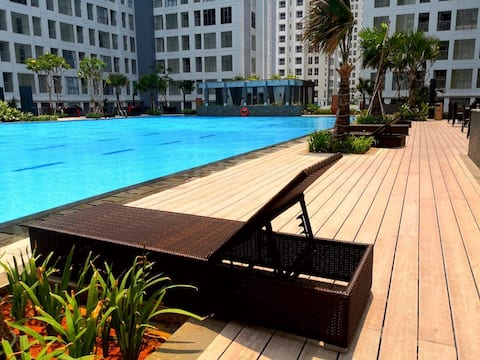 2BR Apartment at M-Town Residences, Tower Carmel