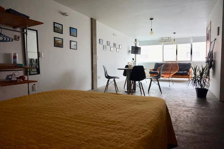 Loft accesible, céntrico, cómodo y privado