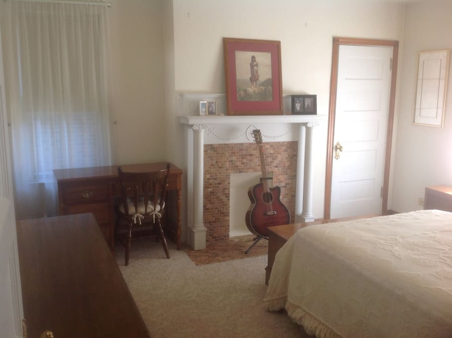 Guest Bedroom from hallway