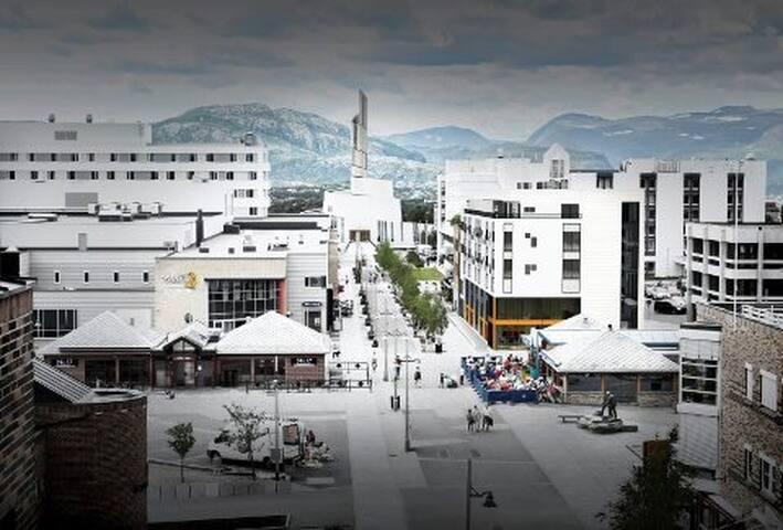 Flott leilighet midt i sentrum av Alta