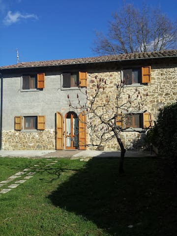 COTTAGE in LA SELVA (SANTA FIORA) - Province of Grosseto - Haus