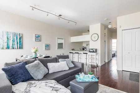 Beautiful 2BR Apt w/King Bed + AC minutes from DT!