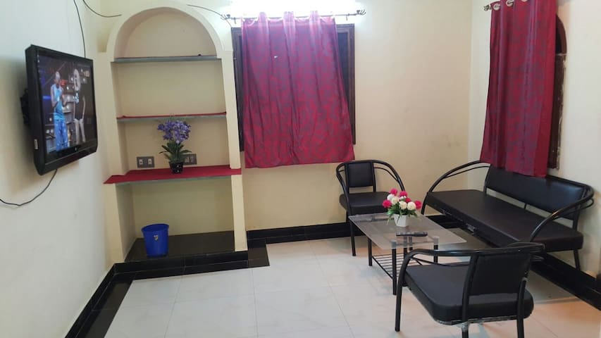 Super Deluxe rooms near Auroville - Bommayapalayam - Appartement
