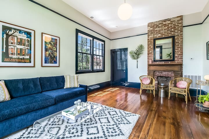 Casual Comfort in Historic Lower Garden District