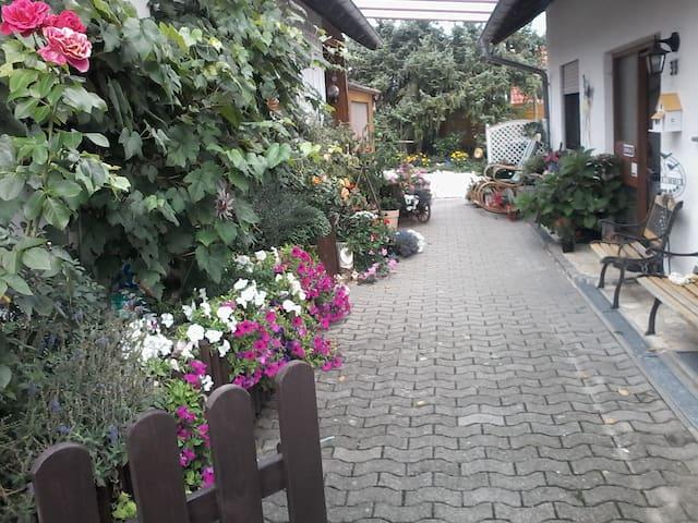 Gemütliche Fewo mit Balkon - Eigeltingen - Wohnung