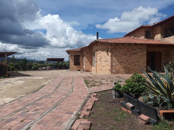 Casa campestre de descanso junto a Zipaquirá