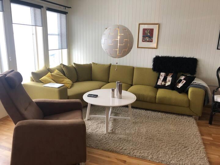 Fin leilighet med 7 sengeplasser i Bjørnen, Åre