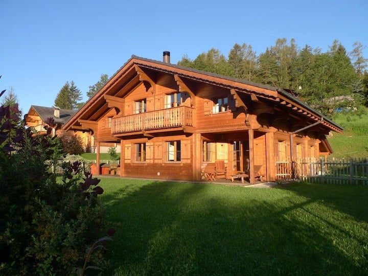 Splendid Chalet in the Swiss Alps Ideally Located