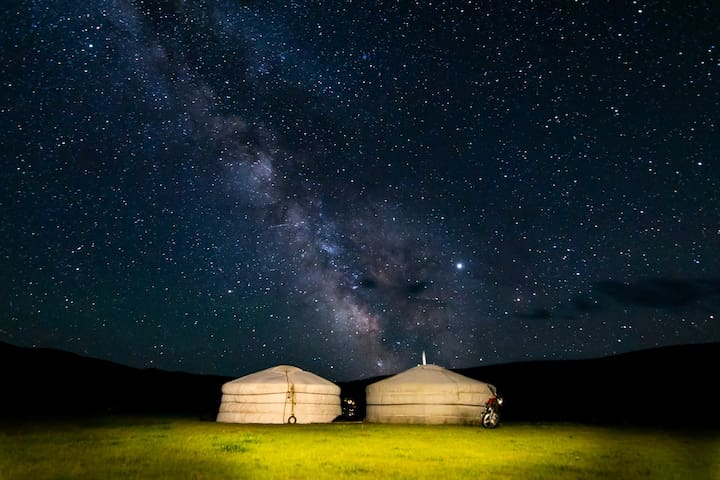 Nomadic stay at Orkhon Valley