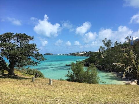Очаровательное место для отдыха на пляже