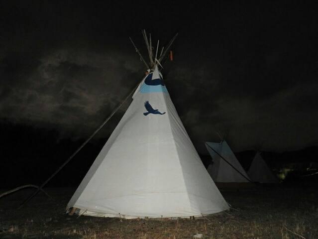 Tipi cheyenne camping cubillas - Cubillas de Santa Marta