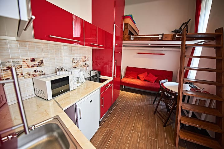 Nicely renovated studio flat in the city centre