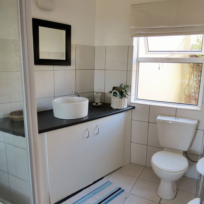 On-suite shower and toilet