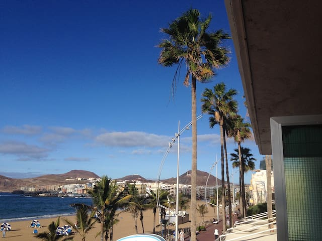 First Line at the Beach with Sea View! BW - Las Palmas de Gran Canaria - Leilighet