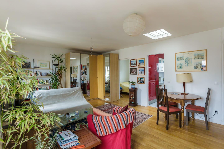 Un appartement lumineux et confortable