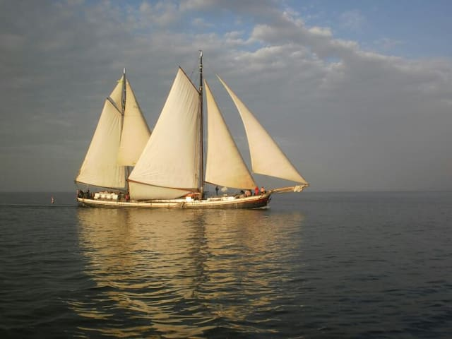 Hotel schip Johanna Engelina