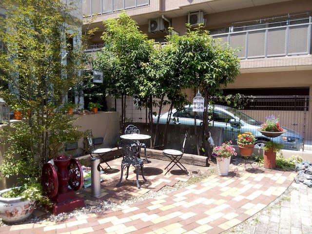 名古屋愛知学院大学、丰田汽车博物馆、附近的一间居室 - 名古屋市 - Bed & Breakfast