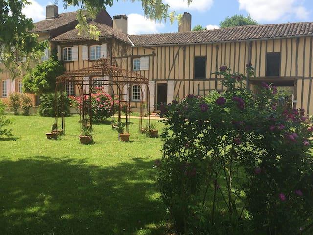 Chambre d'hôtes Gers au coeur de la Gascogne - Sainte-Christie-d'Armagnac - Penzion (B&B)