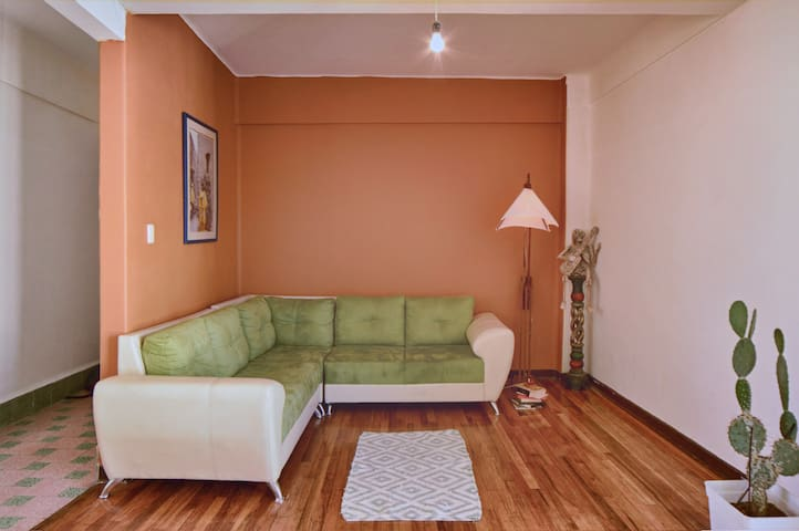 Whole apartment with excellent location.