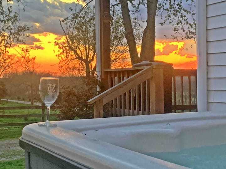 NEW DC Farmhouse Come relax in our HOT JACUZZI