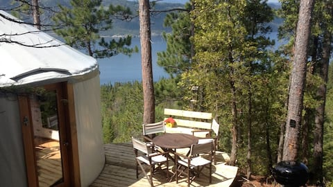 Yurt Whispering Forest #facility 627497