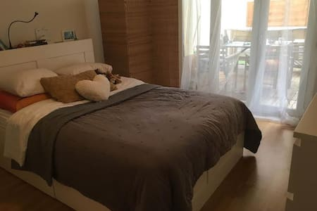 Cozy room in a Friendly apartment :) - Dübendorf - Apartament
