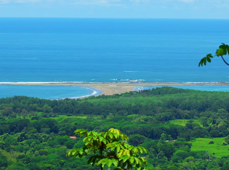 View from Pura Uvita