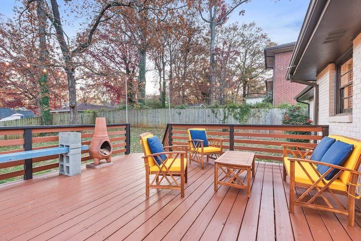 ⚡Cool Vibes East ATL-Huge Fenced Yd-Pet Friendly⚡
