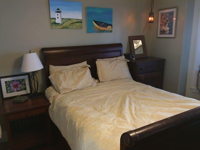 Cozy room, 4 min walk to Harvard Law School - Cambridge - Casa