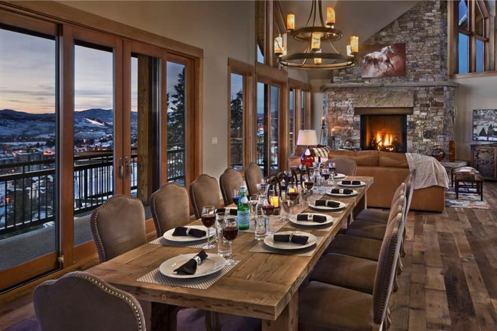 Upper Dining Room with seating for 12