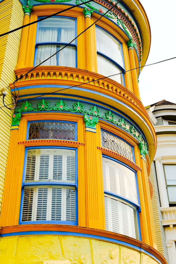 """One of the area's """"painted ladies"""""""